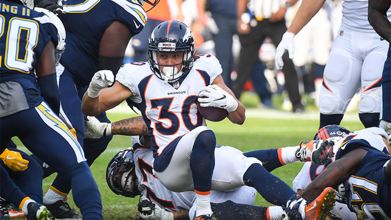 McManus' FG as time expires lifts Denver over Los Angeles