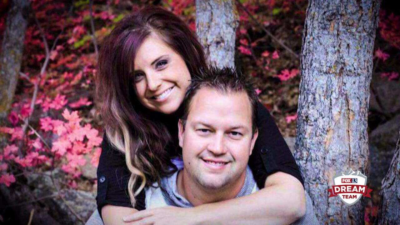 Utah father whose wife died one day after childbirth gets small town support, a surprise on the job