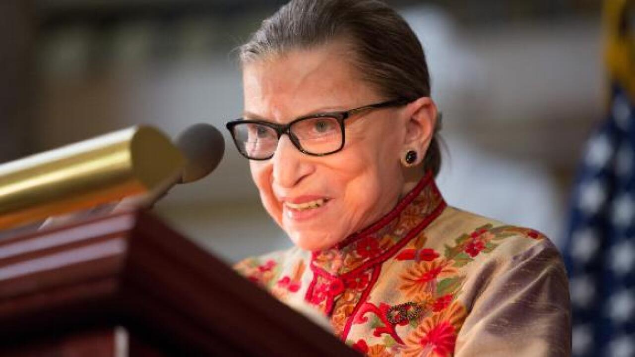 Ruth Bader Ginsburg: I'm alive and 'on my way to being very well' after treatment for pancreatic cancer