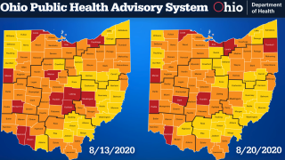 Aug. 20 weekly COVID=19 public health advisory update
