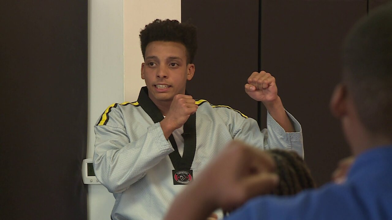 How karate helped this kid turn his life around