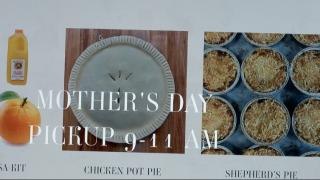 Mother's Day online menu