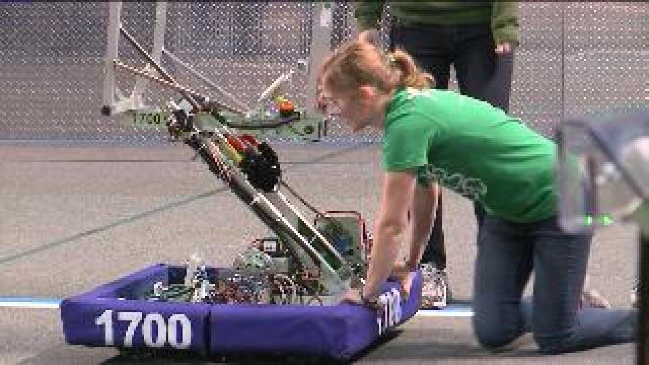 Students put tech to the test in robotics competition