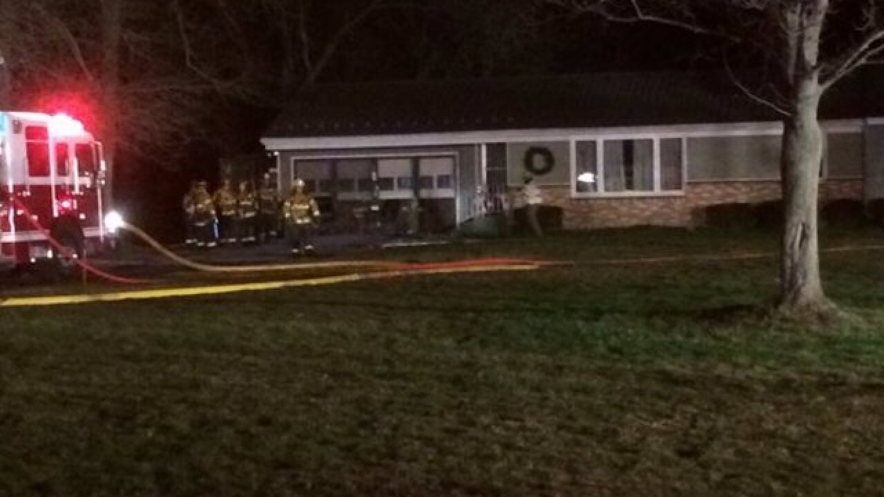 Fire spreads from bedroom to attic in Hamburg