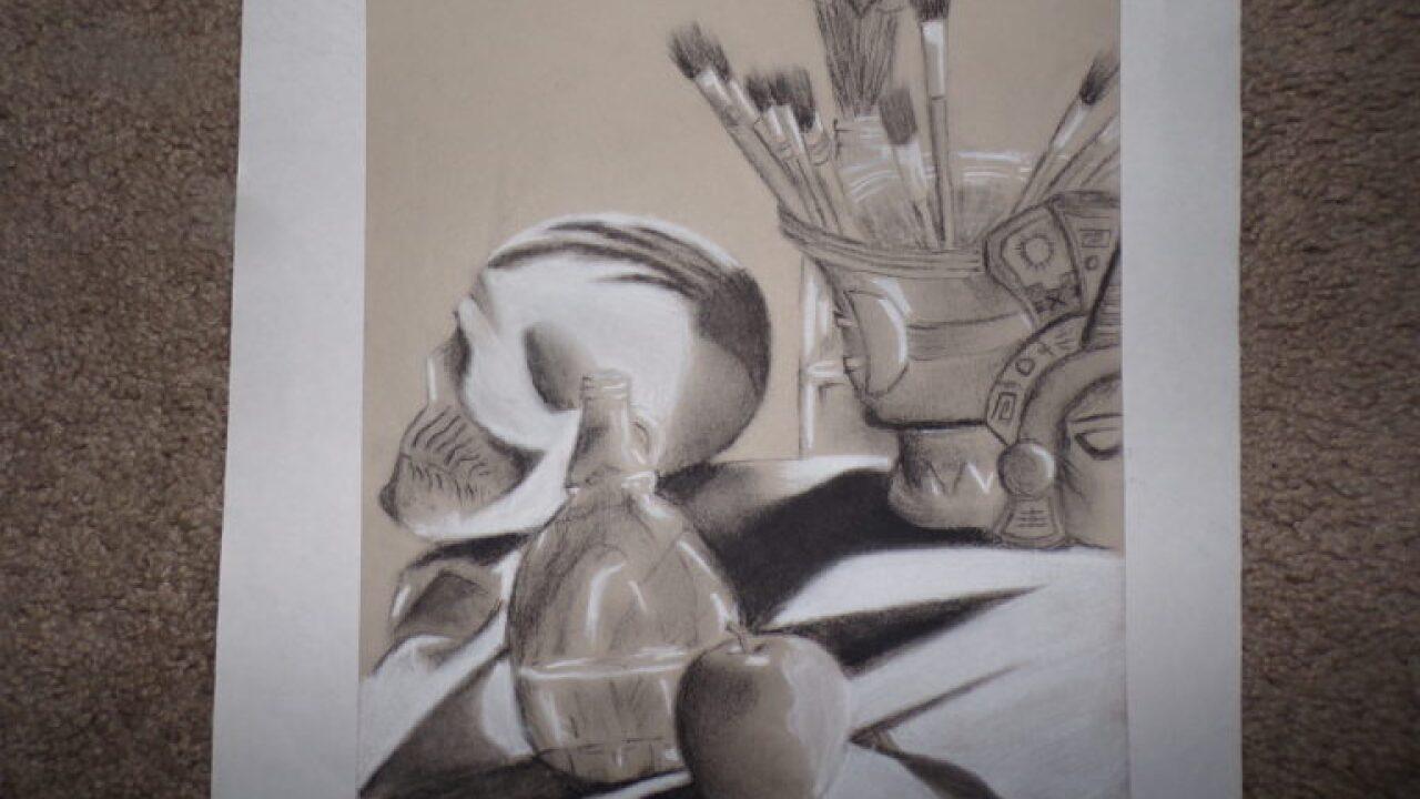 Southern Arizona students receive arts scholarship. Art by: Carlos Sanchez