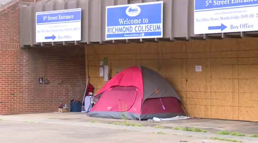 Richmond Coliseum and homelessness 01.png