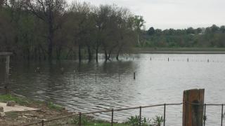 Winthrop, Missouri farm flooding