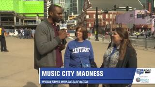 Perrin tries to find Louisville Fans in Nashville!