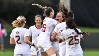 Soccer Takes Down No. 5 Duke With a Last Second Goal by Howell