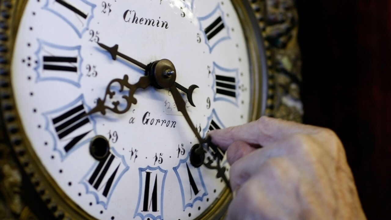 Time could running out for daylight saving time in California