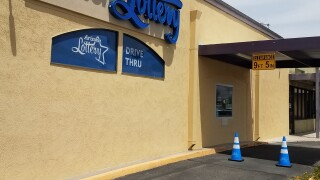 Arizona Lottery opened up its first drive-thru, and it's in Tucson.