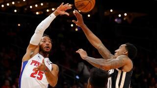 Derrick Rose, Svi Mykhailiuk spark Pistons to easy win over Hawks