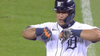 Tigers use big sixth inning to beat Cubs, take second straight series