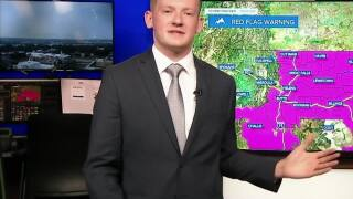 Fire Danger for Labor Day, Warm Weather Continues Next Week