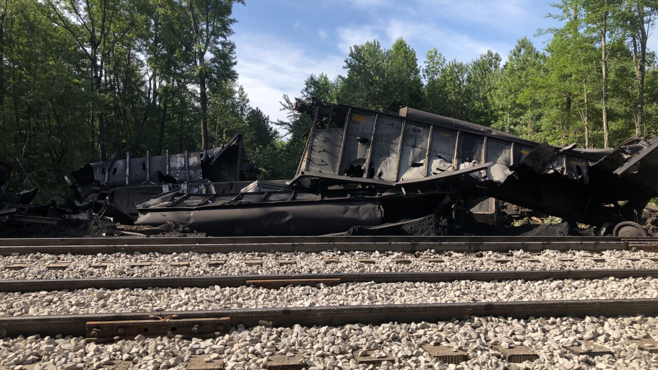 Cleanup begins after 3,600 tons of coal spill into the Great DismalSwamp