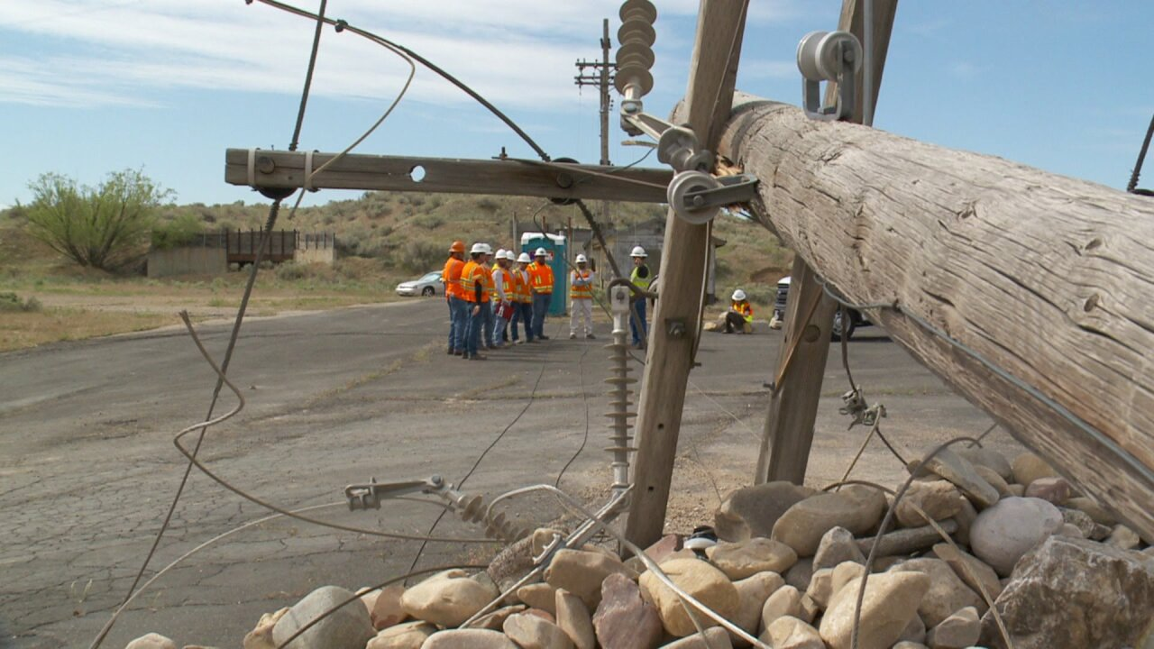 Public works and utility workers train fordisaster