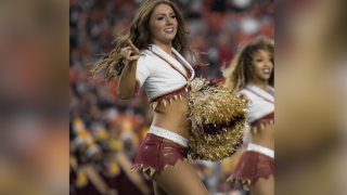 Redskins cheerleader Jordyn Cristaudo