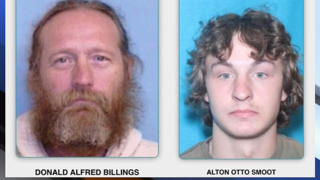 Two N.C. fugitives arrested, 1 makes pipe bomb