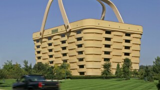 This basket-shaped building in Ohio is being turned into a luxury hotel