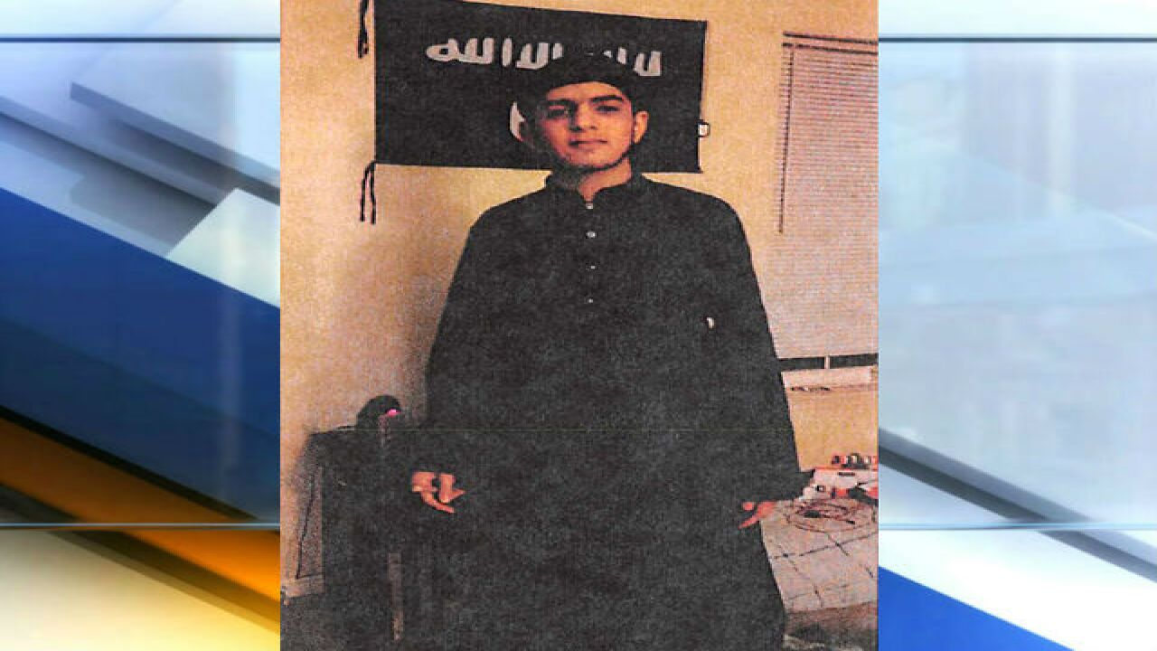 FBI: Indiana man tried to join ISIS