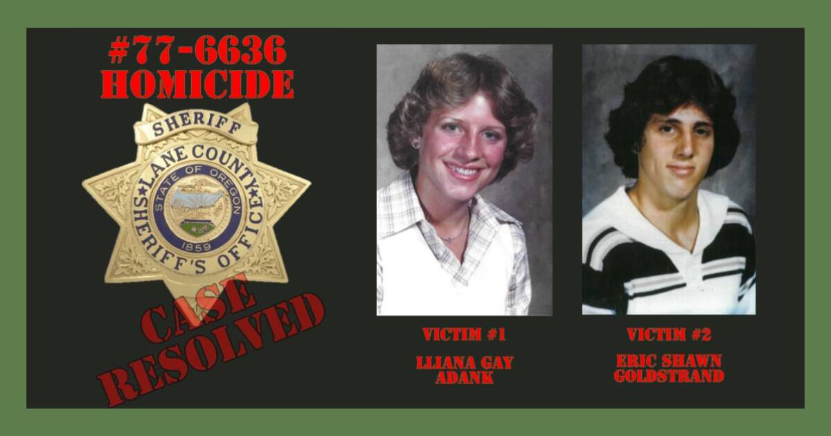 Mesa man identified as alleged killer in 44-year-old cold case from Oregon