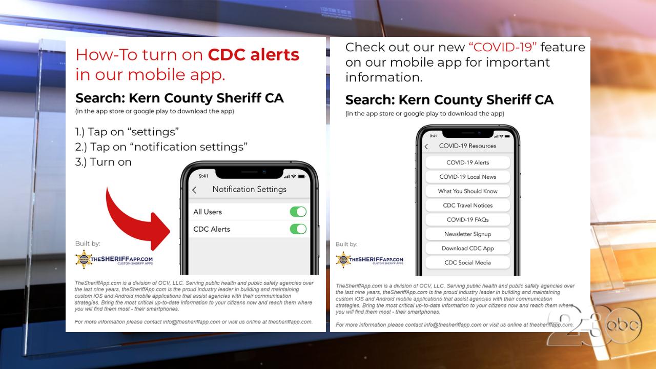 KCSO COVID-19 App Info