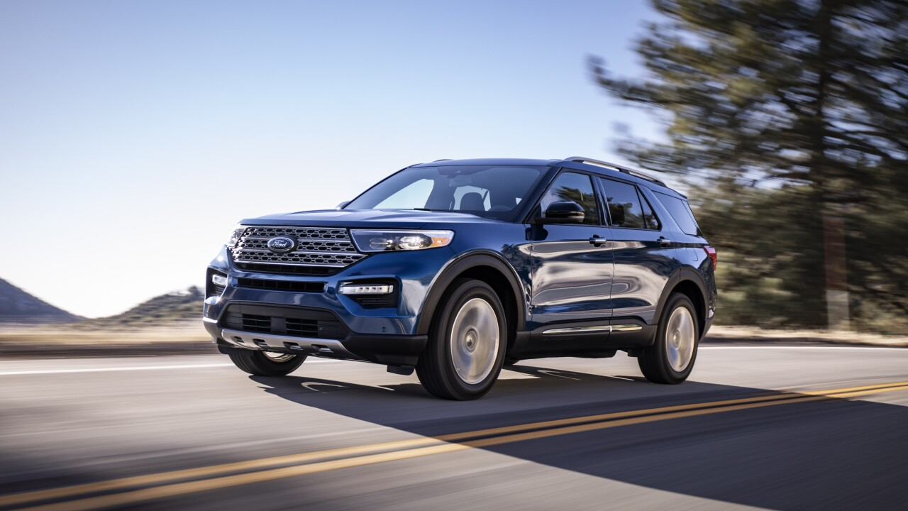 Ford Reveals All New 2020 Explorer