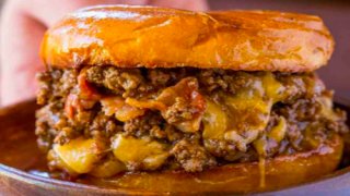 These Insane Sloppy Joes Contain All Our Game-day Faves: Bacon, Beer And Cheese