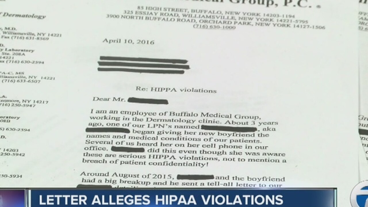 Medical group:Alleged HIPAA violations unfounded