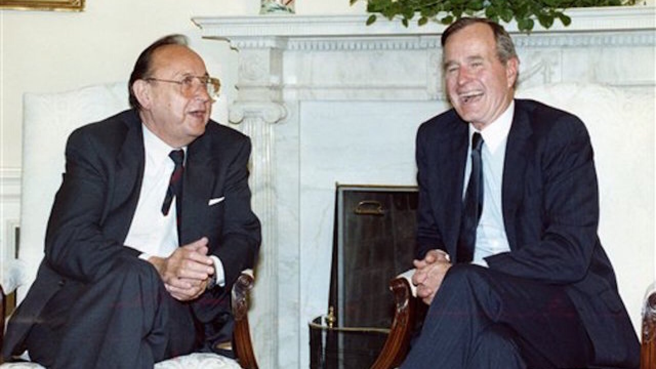 Former W. German foreign minister has died