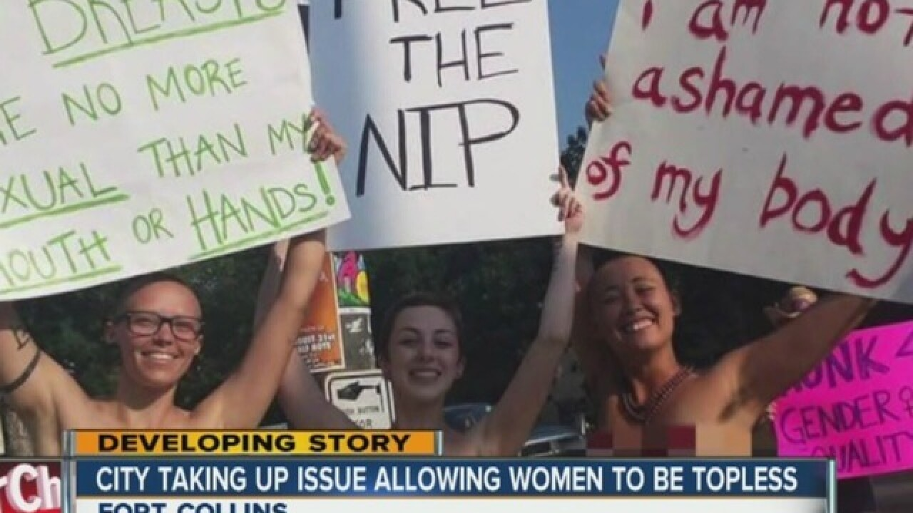 Federal judge grants injunction barring Fort Collins from enforcing rule banning topless women