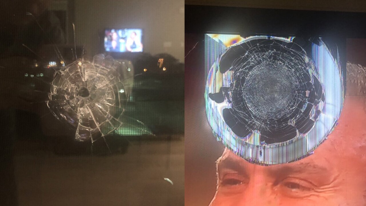 Producer of 'Bobby Bones Show' says bullet was fired into his apartment