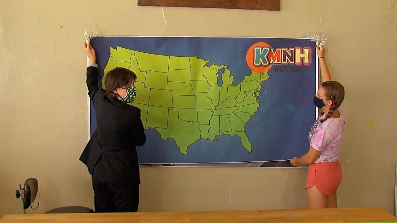 Northside kids produce daily newscast.jpg