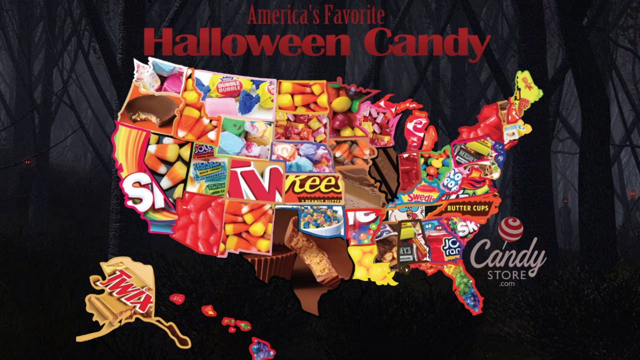 Michigan's favorite Halloween candy is no longer candy corn