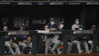 Rays hope to even World Series in Game 2 vs. Dodgers Wednesday
