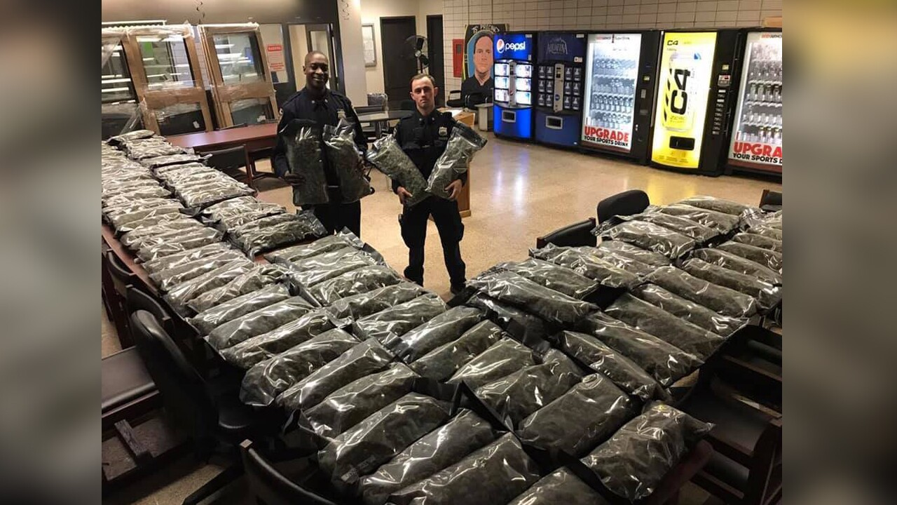 The NYPD confiscated 106 pounds of what they say is marijuana. Fox Holler Farms in New Haven said  the package was organically grown hemp.