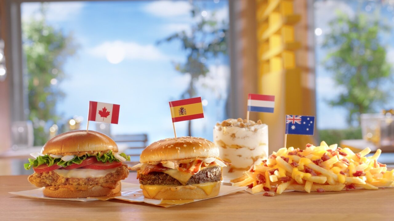 McDonald's is bringing hits from its global menu to the United States