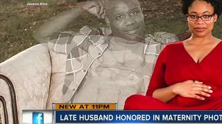 Grieving Tampa woman honors late husband in maternity photos