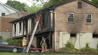 Fort Wright house fire lightning strike