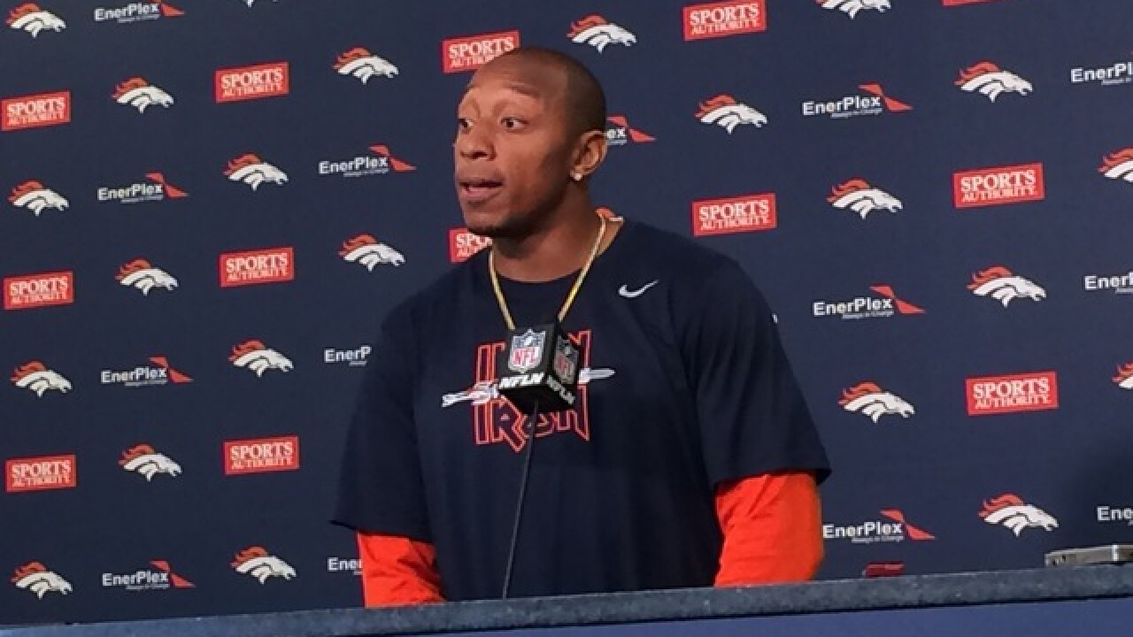 Broncos' Chris Harris calls out Titans' Douglas for 'dirty play'