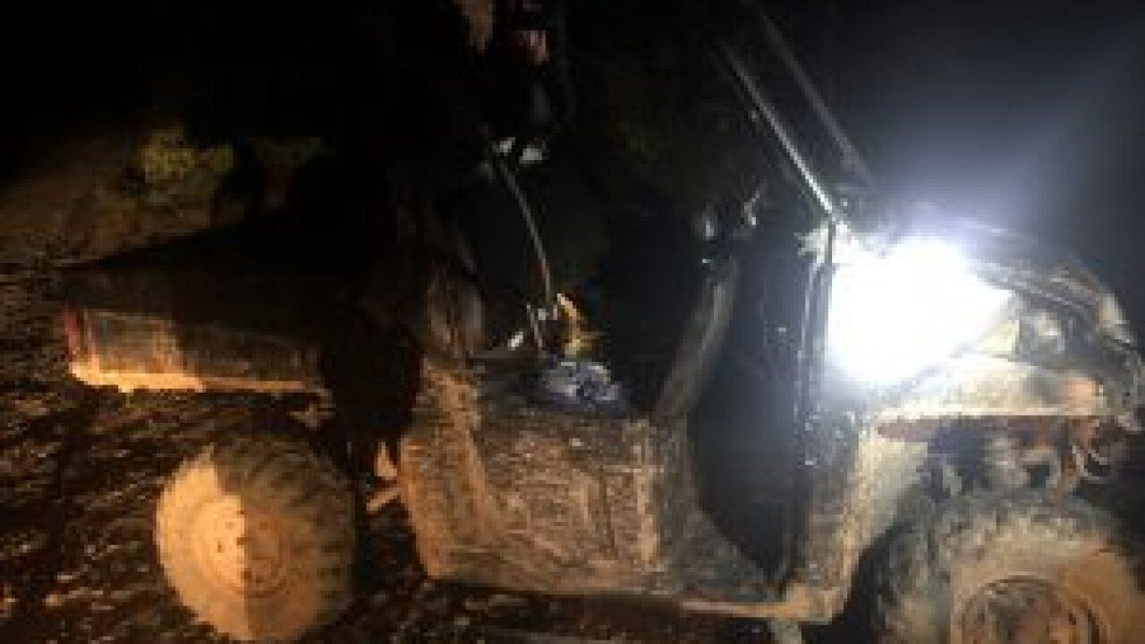 alleged stolen vehicle