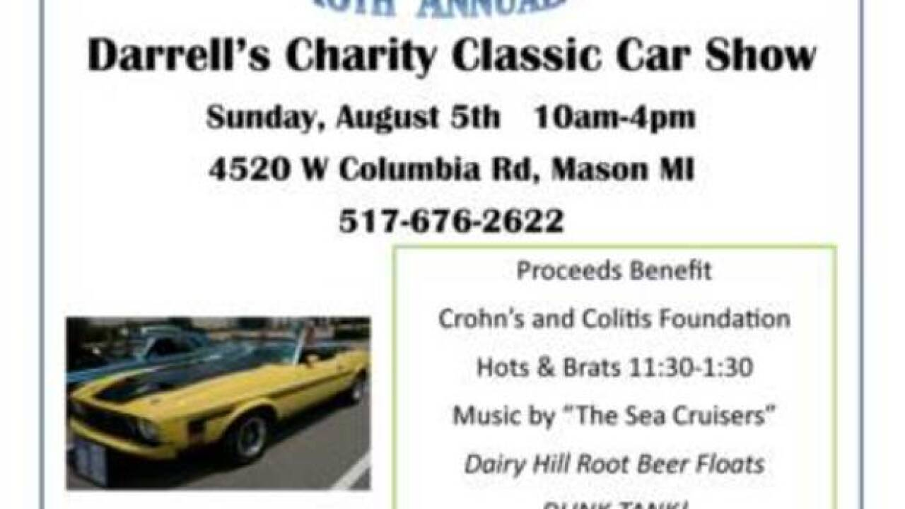 16th Annual Darrell's Charity Classic Car Show