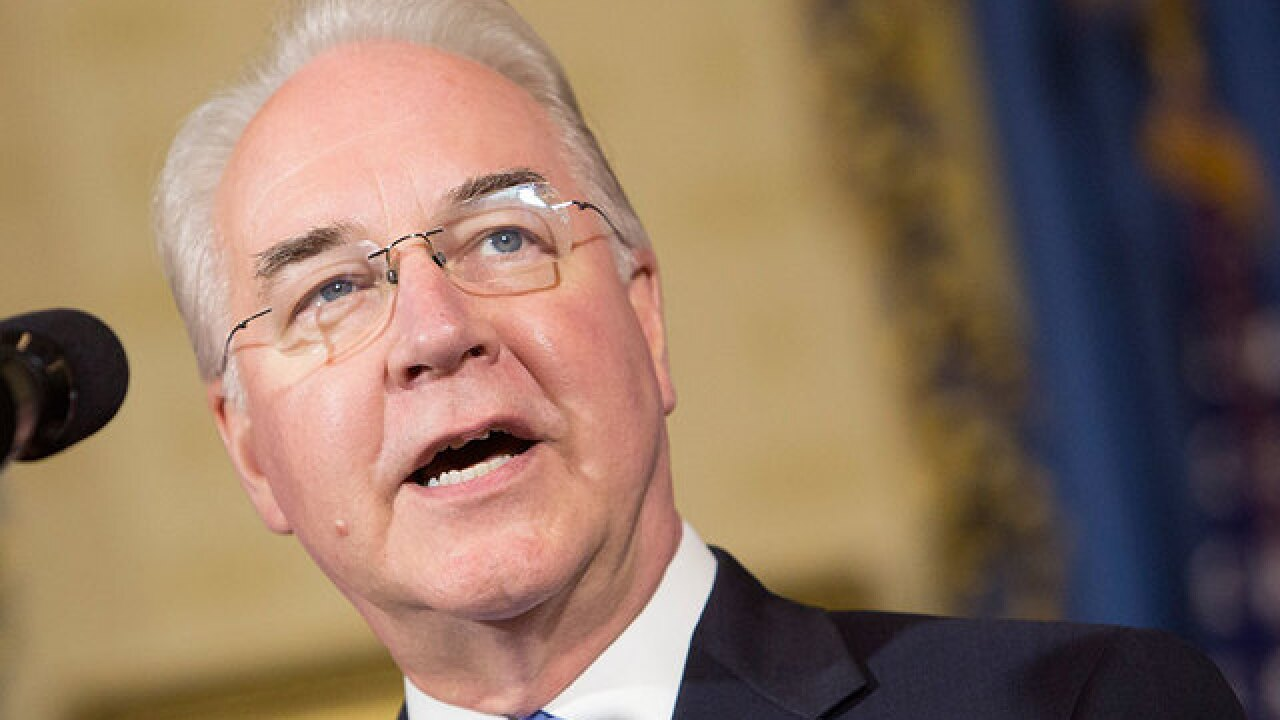 Not all in Trump's Cabinet fly on private jets like Price did last week