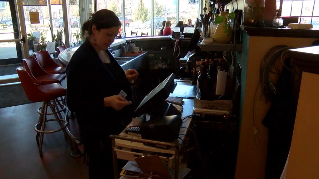 Ruths Parkside Cafe server