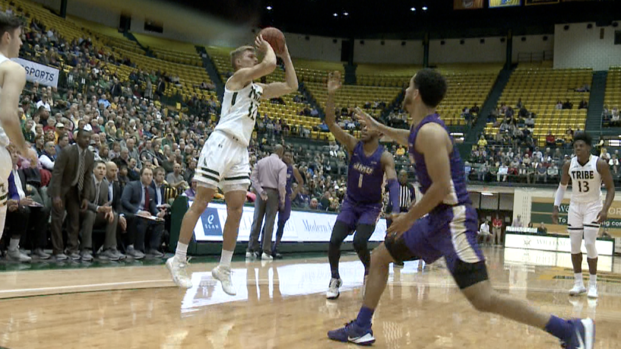 William & Mary men's basketball defeats in-state rival JMU, 88-75
