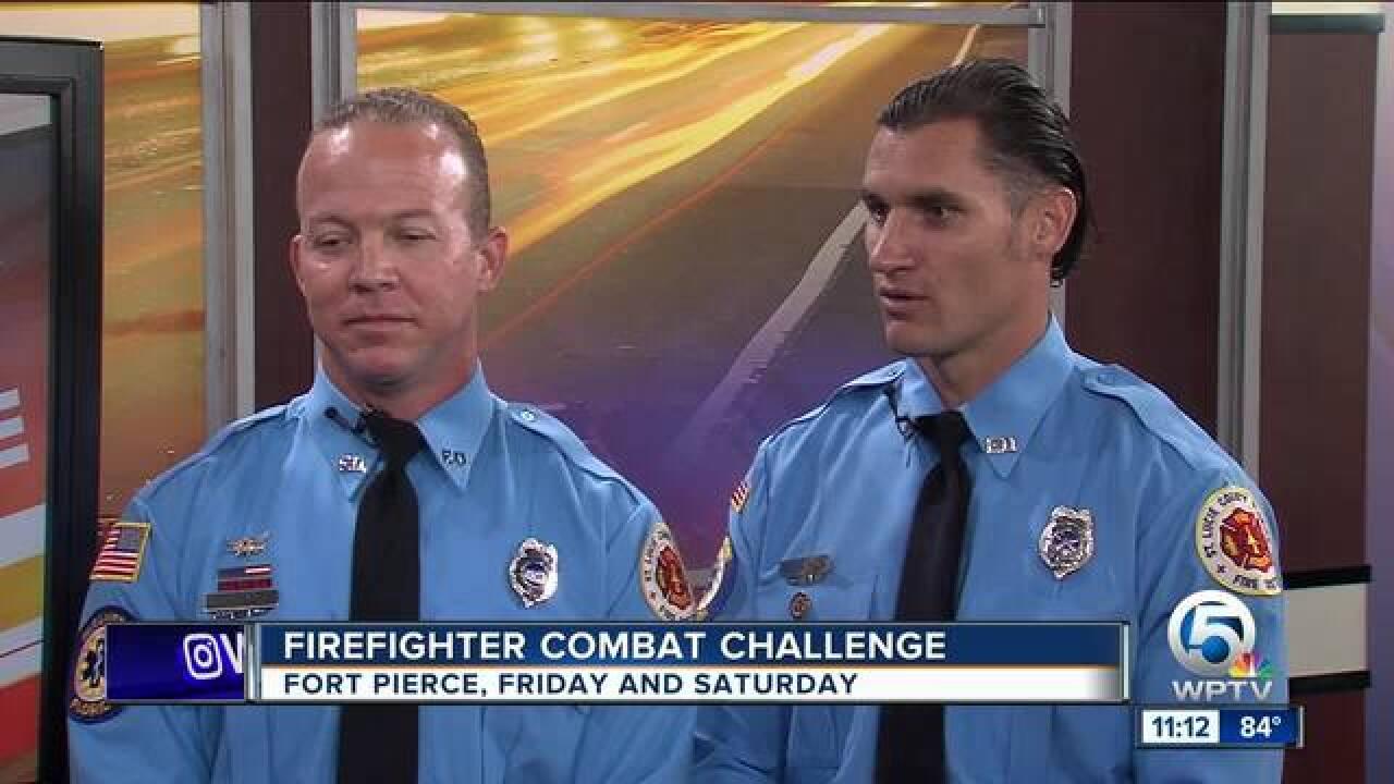 Firefighter Combat Challenge in Fort Pierce