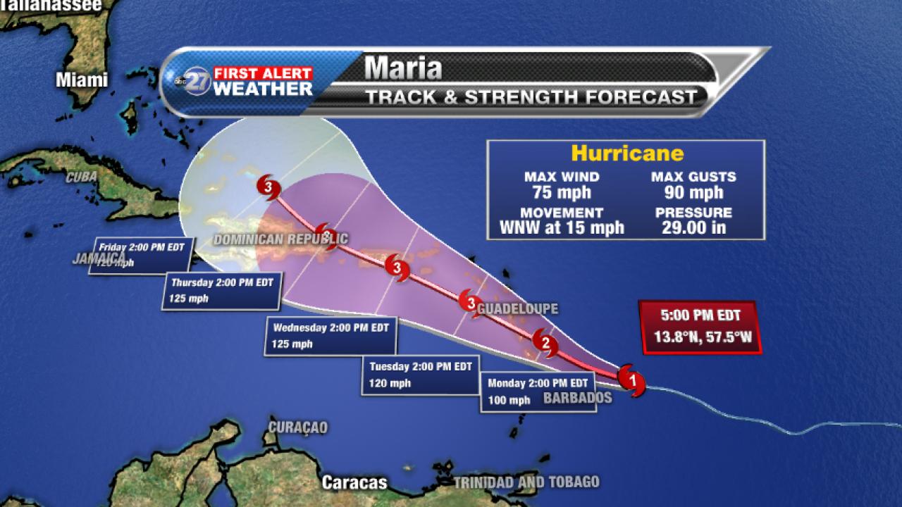 Hurricane Maria, Sunday 9/17/2017 pm