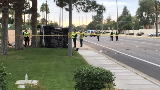 Deadly rollover crash near University Drive and Greenfield 11-28-19