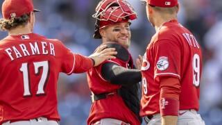 Reds Phillies Baseball