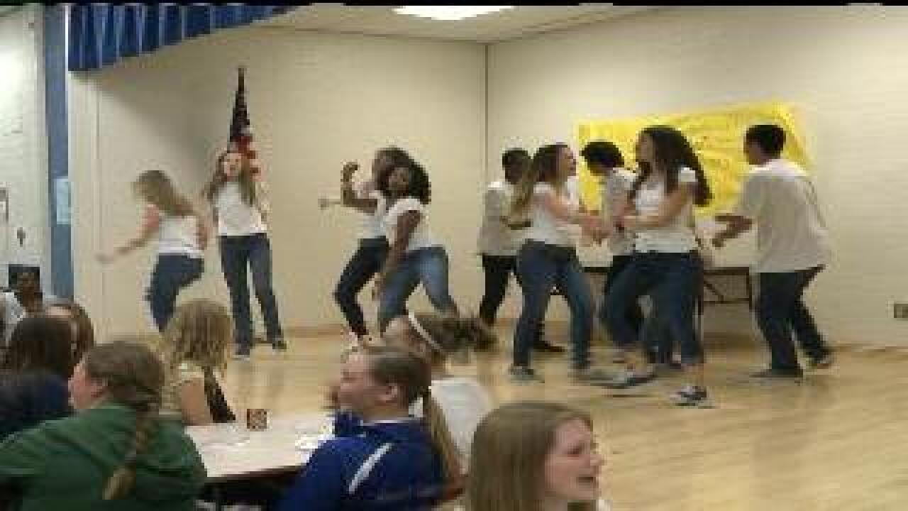 Provo students dance to fight obesity